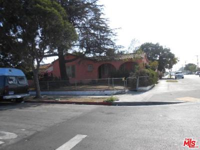 Los Angeles Single Family Home For Sale: 1160 West 102nd Street