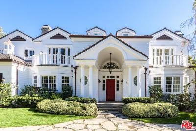Pacific Palisades Single Family Home For Sale: 532 Spoleto Drive