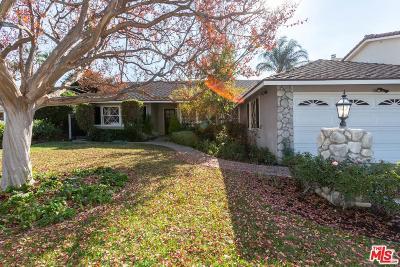 Encino Single Family Home For Sale: 16234 Morrison Street