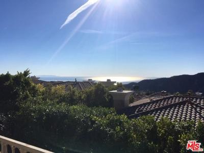 Pacific Palisades Single Family Home For Sale: 16658 Calle Brittany