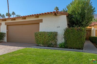 Palm Springs Condo/Townhouse For Sale: 1279 North Primavera Drive