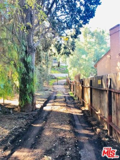 Studio City Residential Lots & Land For Sale: 3501 Laurel Canyon