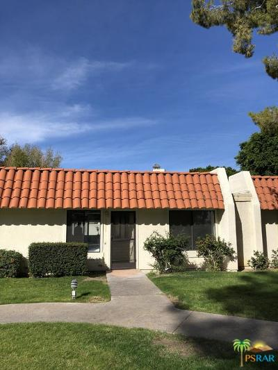 Rancho Mirage Condo/Townhouse For Sale: 69535 Jardin Court