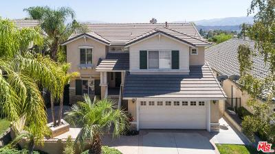 Stevenson Ranch Single Family Home For Sale: 26054 Singer Place