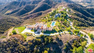 Calabasas Single Family Home For Sale: 24932 Thousand Peaks Road