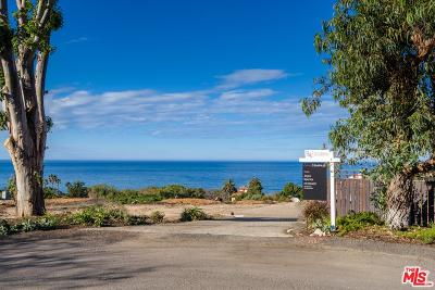 Malibu CA Residential Lots & Land For Sale: $4,700,000