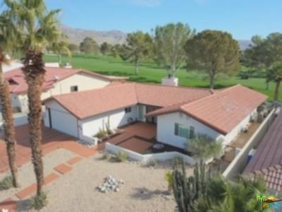 Desert Hot Springs Single Family Home For Sale: 8940 Clubhouse