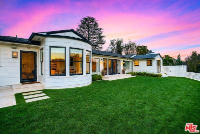 Beverly Hills Single Family Home For Sale: 12754 Mulholland Drive