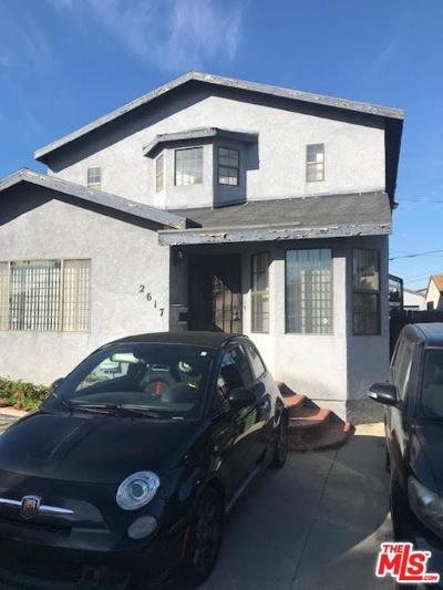 Mid Los Angeles (C16) Single Family Home For Sale: 2617 South Spaulding Avenue