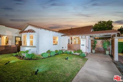 Los Angeles Single Family Home For Sale: 3750 Dover Place