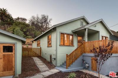 Los Angeles Single Family Home Active Under Contract: 1105 North Hazard Avenue
