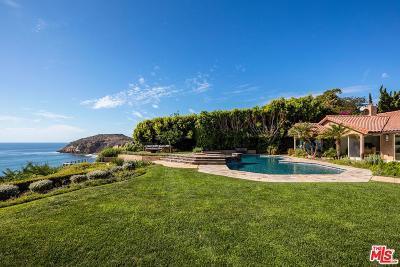 Malibu Single Family Home For Sale: 29020 Cliffside Drive