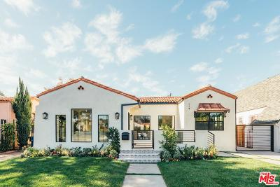 Los Angeles Single Family Home For Sale: 119 North Laurel Avenue
