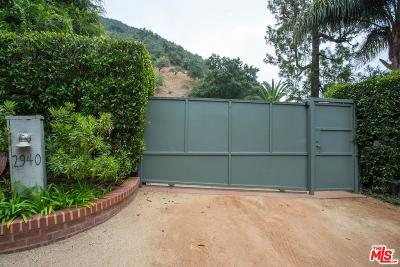 Los Angeles Single Family Home For Sale: 2940 Mandeville Canyon Road