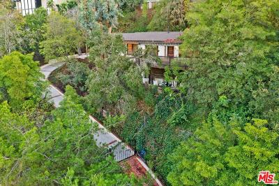 Los Angeles Single Family Home For Sale: 7469 Mulholland Drive