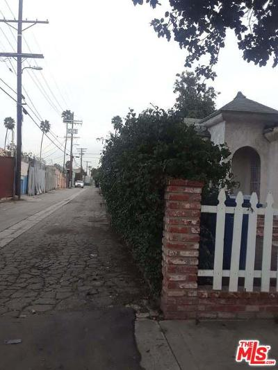 Los Angeles Single Family Home For Sale: West