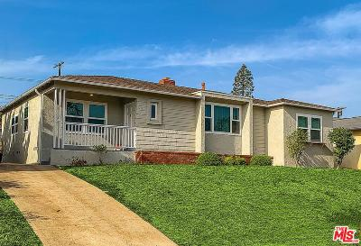 Los Angeles CA Single Family Home For Sale: $4,900