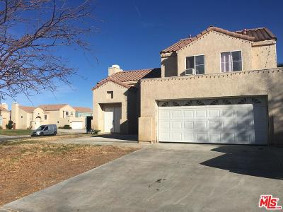 Palmdale Single Family Home For Sale: 36910 Clearwood Court