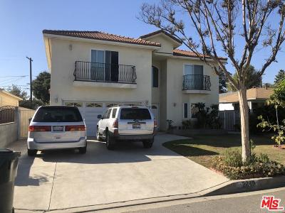 Los Angeles County Single Family Home For Sale: 2849 Doolittle Avenue