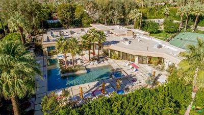 Palm Springs Single Family Home For Sale: 460 West Canyon Place
