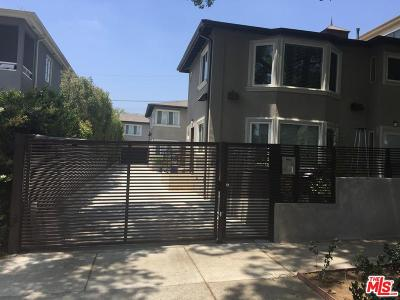 West Hollywood Rental For Rent: 1121 North Sweetzer Avenue #4