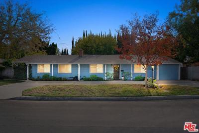 Sherman Oaks Single Family Home For Sale: 13804 Milbank Street
