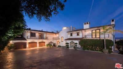 Beverly Hills Rental For Rent: 13319 Mulholland Drive