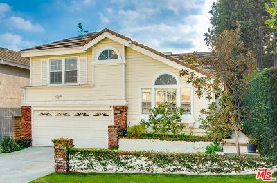 Los Angeles County Single Family Home Active Under Contract: 7536 West 85th Street