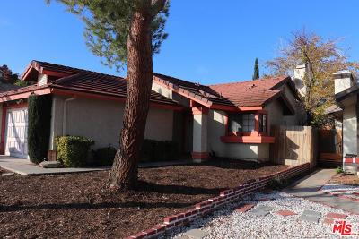 Palmdale Single Family Home For Sale: 36929 Turner Drive