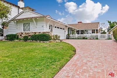 Pacific Palisades Single Family Home For Sale: 630 North Las Casas Avenue