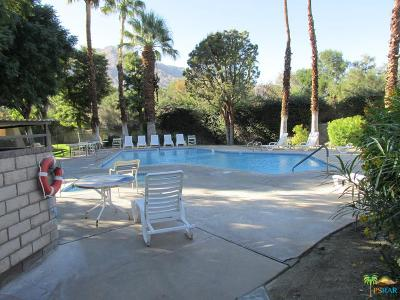 Palm Springs CA Condo/Townhouse For Sale: $116,500