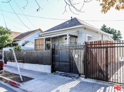 Los Angeles Single Family Home Active Under Contract: 2876 West 12th Street