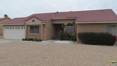 Desert Hot Springs Single Family Home For Sale: 8470 Annandale Avenue