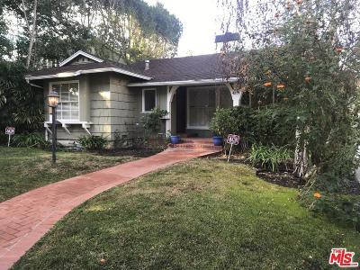 Sherman Oaks Single Family Home Sold: 4151 Ventura Canyon Avenue