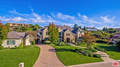 Calabasas Single Family Home For Sale: 25222 Prado Del Misterio