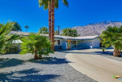 Palm Springs Single Family Home Active Under Contract: 1251 East Verbena Drive