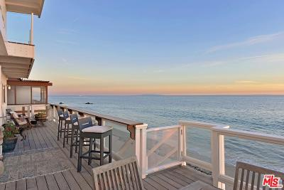 Malibu Single Family Home For Sale: 21906 Pacific Coast Highway