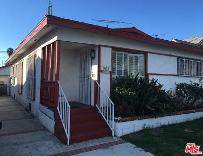 Los Angeles County Single Family Home For Sale: 3671 Cimarron Street
