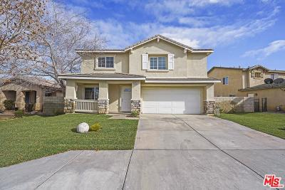 Lancaster Single Family Home For Sale: 45542 Robinson Drive