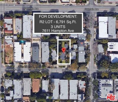 Single Family Home For Sale: 7611 Hampton Avenue