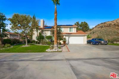 Canyon Country Single Family Home Active Under Contract: 28918 Poppy Meadow Street