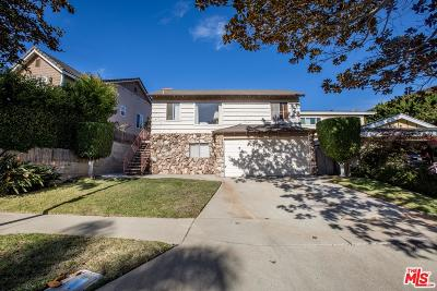 Playa Del Rey Single Family Home For Sale: 7841 West 83rd Street