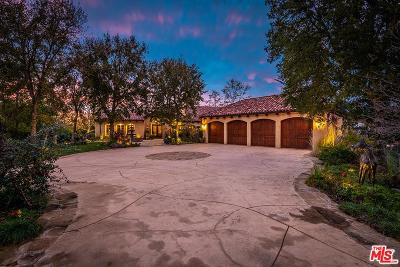 Westlake Village Single Family Home For Sale: 1350 Country Ranch Road