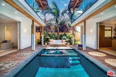 Venice Single Family Home Sold: 632 Brooks Avenue