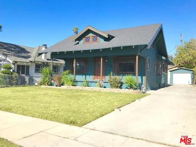 Mid Los Angeles (C16) Single Family Home For Sale: 2085 West 29th Street