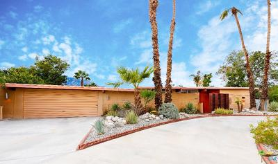 Palm Springs Single Family Home Active Under Contract: 2957 North Cerritos Road