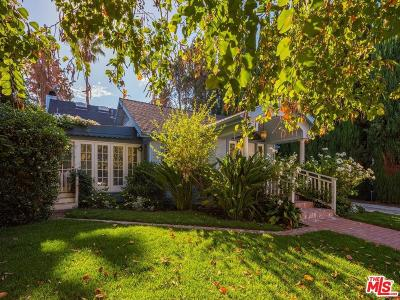 West Hollywood Single Family Home For Sale: 823 Westbourne Drive