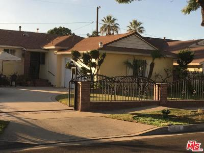 Compton Single Family Home For Sale: 15803 South Haskins Avenue