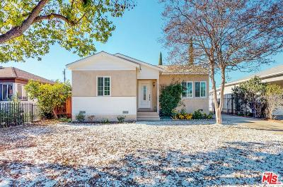 North Hollywood Single Family Home For Sale: 6131 Ensign Avenue