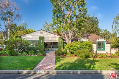 Pacific Palisades Single Family Home For Sale: 1238 Villa Woods Drive